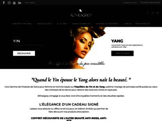 Altheagrey, produits de soins pour femmes et hommes