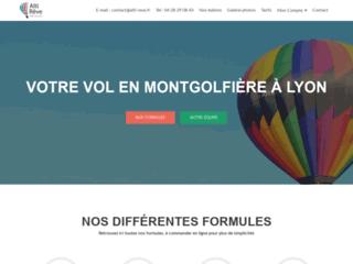 Voici la fiche de Alti Reve Montgolfiere qui réalise des baptêmes de montgolfière à Lyon
