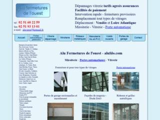 Détails : Alu fermetures de l'ouest : Dépannage vitrerie