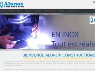 Détails : Alunox construction, cuisine pro inox