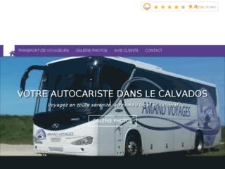 Amand Voyages - autocariste dans le Calvados