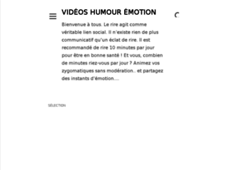Videos Humour Emotion