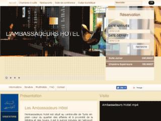Détails : Les Ambassadeurs: hôtel pour séjours d'affaires en Tunisie