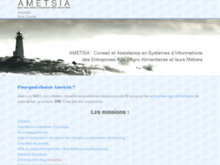 Détails : Ametsia, Assistance à Maitrise d'ouvrage