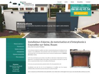 Installateur d'alarme, de motorisation et d'interphonie à Courcelles-sur-Seine, Rouen