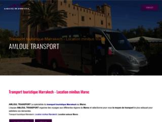 Location minibus Maroc