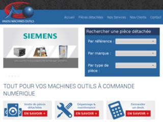 Anjou Machine Outils - Pièces détachées, maintenance et dépannage