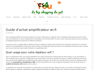 Pourquoi acheter un amplificateur wifi?
