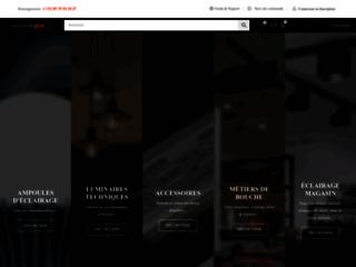 Détails : Vente d'ampoule en ligne