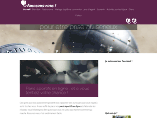 Site Web officiel Amusons Nous