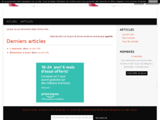 Ana-mon-Ennemie : mon blog anti-anorexie