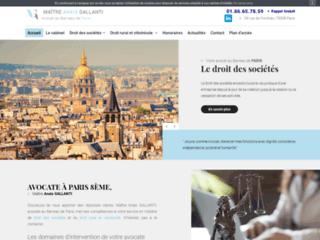 Avocate à Paris 8ème, Maître Anaïs GALLANTI