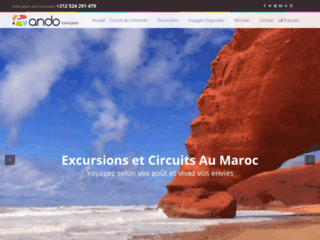 Ando voyage agence de voyage Marrakech, Excursions et circuits au Maroc