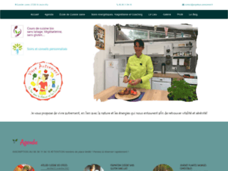 """École de cuisine bio """"Vivre autrement"""""""