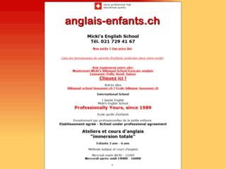 Détails : Bilingual school: anglais-français (Pully)