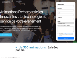 Animation Événementiel