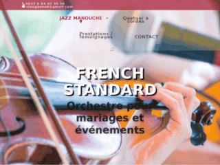 Détails : French standard : orchestre pour mariages et événements