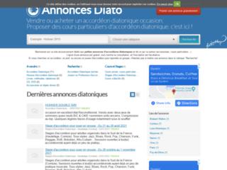 Détails : Annonces Diato, le site des petites annonces diatoniques
