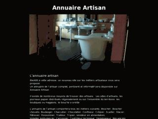 Annuaire artisans