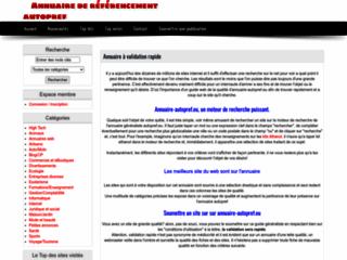 Annuaires automatiques (autopref eu)