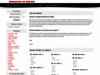 Détails : Annuaire automatique - validation instantanée