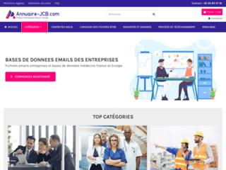 Détails : JCB Annuaire - achat de fichiers qualifiés