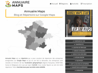 Annuaire Google Maps