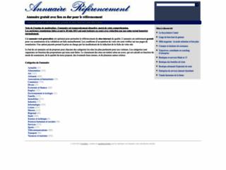 Détails : Annuaire gratuit de référencement