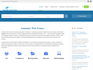 Détails : Web France Annuaire référencement Internet