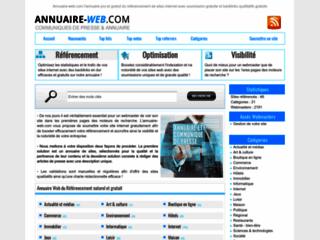 Annuaire Web: Annuaire gratuit de référencement
