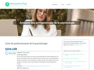 Un site consacré aux professionnels de la psychologie