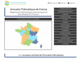 Annuaire économique et touristique sur la France