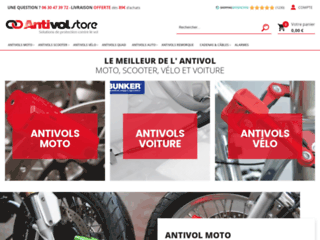 Antivol-store propose des dispositifs de protections antivols