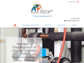 Audeyer Pinede Energie, chauffagiste à Vif