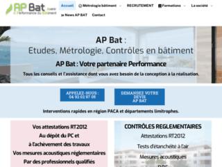 Site officiel de AP Bat