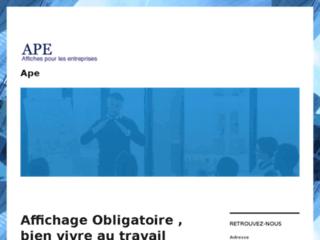 Détails : Affichage obligatoire entreprise |  Affichage France