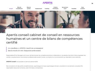 Apertis Conseil - Bilan de Compétences Ile-de-France