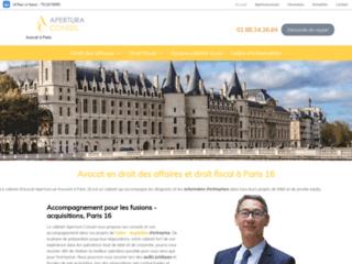 Avocat en droit des affaires et droit fiscal à Paris 16