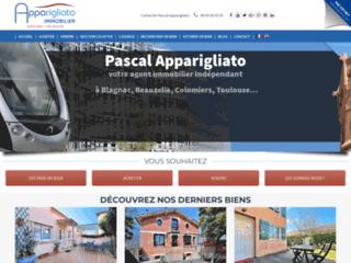 Détails : Apparigliato Immobilier, agence immobilière à Blagnac
