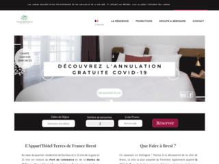 Détails : Appart Hôtel Brest Centre-Ville *** - Nuitée, Semaine & Long Séjours à Brest