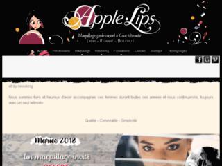 Détails : APPLE-LIPS Maquillage et Relooking