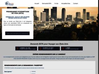 Demande d'autorsation ESTA en ligne