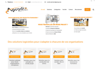 Aprodix, logiciel ERP