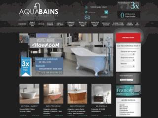 www.aquabains.fr - trouvez la baignoire balneo de vos envies