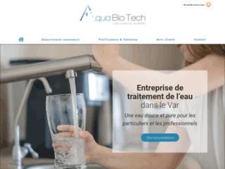 Aqua Bio Tech, entreprise de traitement de l'eau