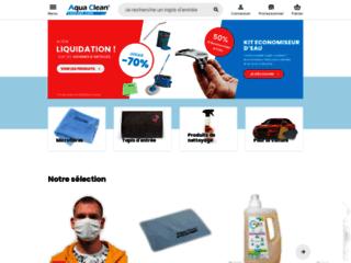 Aqua Clean Concept : e-commerce de chiffonnettes en microfibres lavantes à usage domestique et professionnel