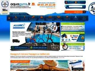 Détails : Aquagyms, le site référence d'aquagym