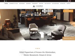 Chambre et Suite à l'hôtel l'Aquarium Arras