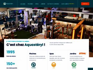 Détails : Aquastéryl : une boutique de matériel et d'accessoires pour votre piscine et jardin