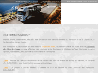 Détails : Aquidis, transport de marchandises et logistique